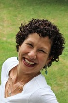 Author Della Barbato smiling for blog readers.